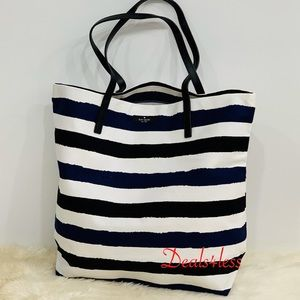 Kate Spade Tote Purse Weekender Travel Beach Bag